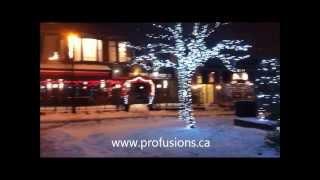 preview picture of video 'Noël dans le village de st-lambert rive sud de Montreal'