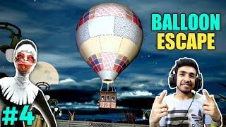 FINALLY BALLOON ESCAPE WITH KIDS | EVIL NUN HORROR GAMEPLAY #4