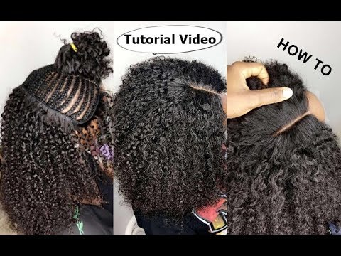 Download How To Natural Hair Sew In Weave No Leave Out