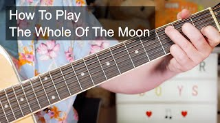 'The Whole Of The Moon' The Waterboys Easy Acoustic Guitar Lesson