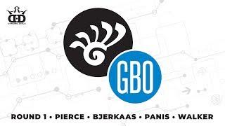 Glass Blown Open 2019 - FPO Round 1 LIVE - Bjerkaas - Pierce - Walker - Panis
