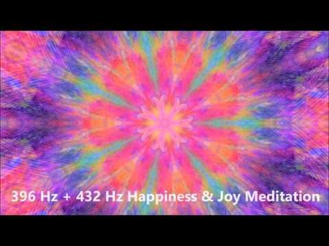 396 Hz + 432 Hz Happiness & Joy Meditation Music | Healing Frequencies