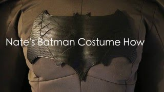 Nate's Batman Costume How-To