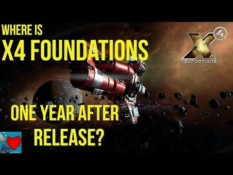 X4 Foundations, 1 Year after Release