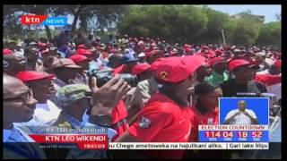 Wagombeaji wa viti mbalimbali wa Jubilee wafanya kampeni pamoja huko Nakuru