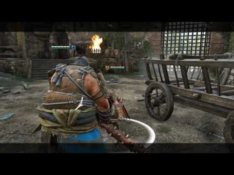 For Honor: Shugoki Tech (Unparryable Heavies/Double Hit)