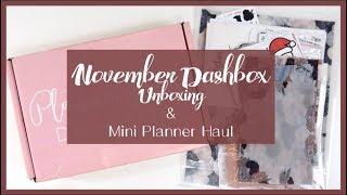 November Dashbox ft. Planner Press & Mini Planner Haul // Plan with Juli