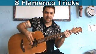 8 Flamenco & Spanish Guitar Tricks Every Guitar Player Should Know  [Tutorial]