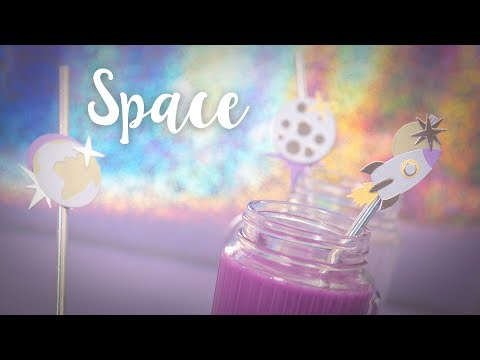 Space Party Ideas: DIY Party Straws!