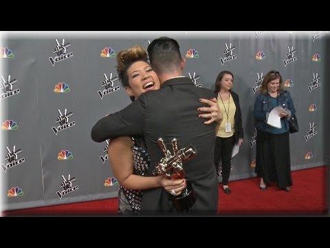Adam Levine & Tessanne Chin | Celebrate The Win! | The Voice Season 5 Finale