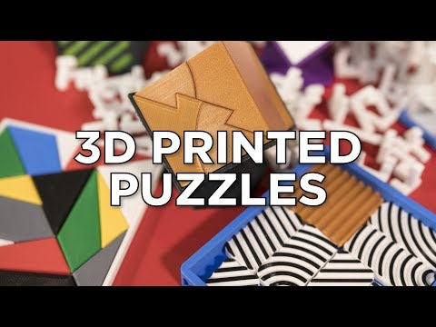 My 3D Printed Puzzles + Competition!