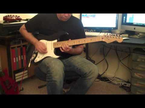 "Why not a ""Strat"" blues @ Jeffrey's studio ;)"