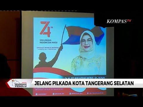 Jelang Pilkada Kota Tangerang Selatan, Istri Sandiaga dan Anak Ma'ruf Amin Siap Maju