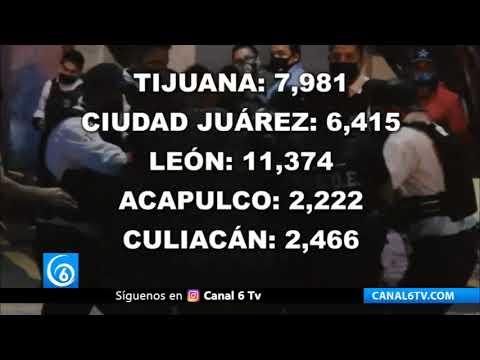 Los municipios más violentos del país son gobernados por Morena