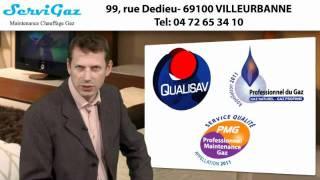 Entretien et installation chaudière gaz Rhône