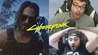 Cyberpunk 2077 - Keanu Reeves Reactions  😎😎😱