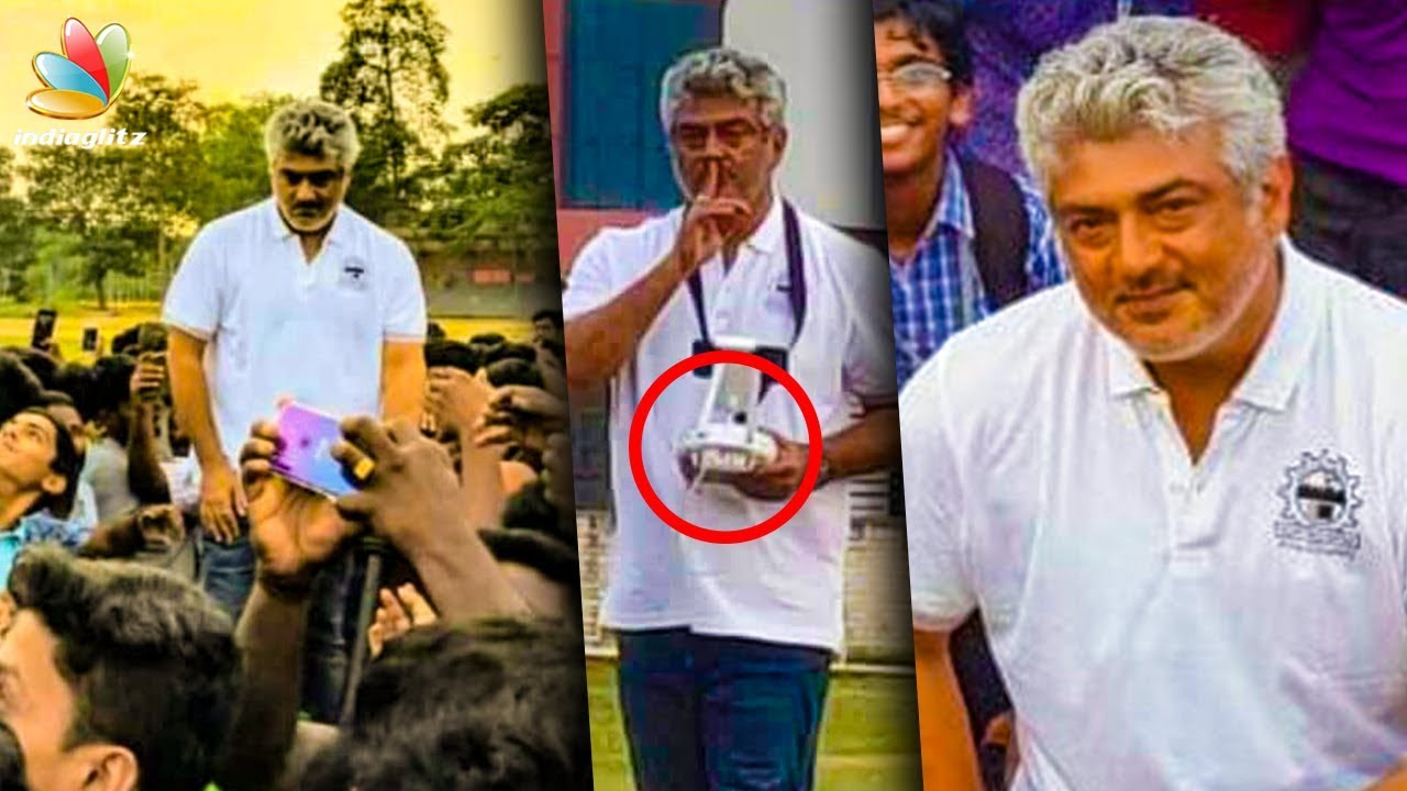 Ajiths True Self Revealed : Passion is First | Thala with MIT Students | Daksha Drone
