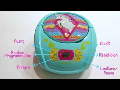 Lexibook Lettore CD Unicorno