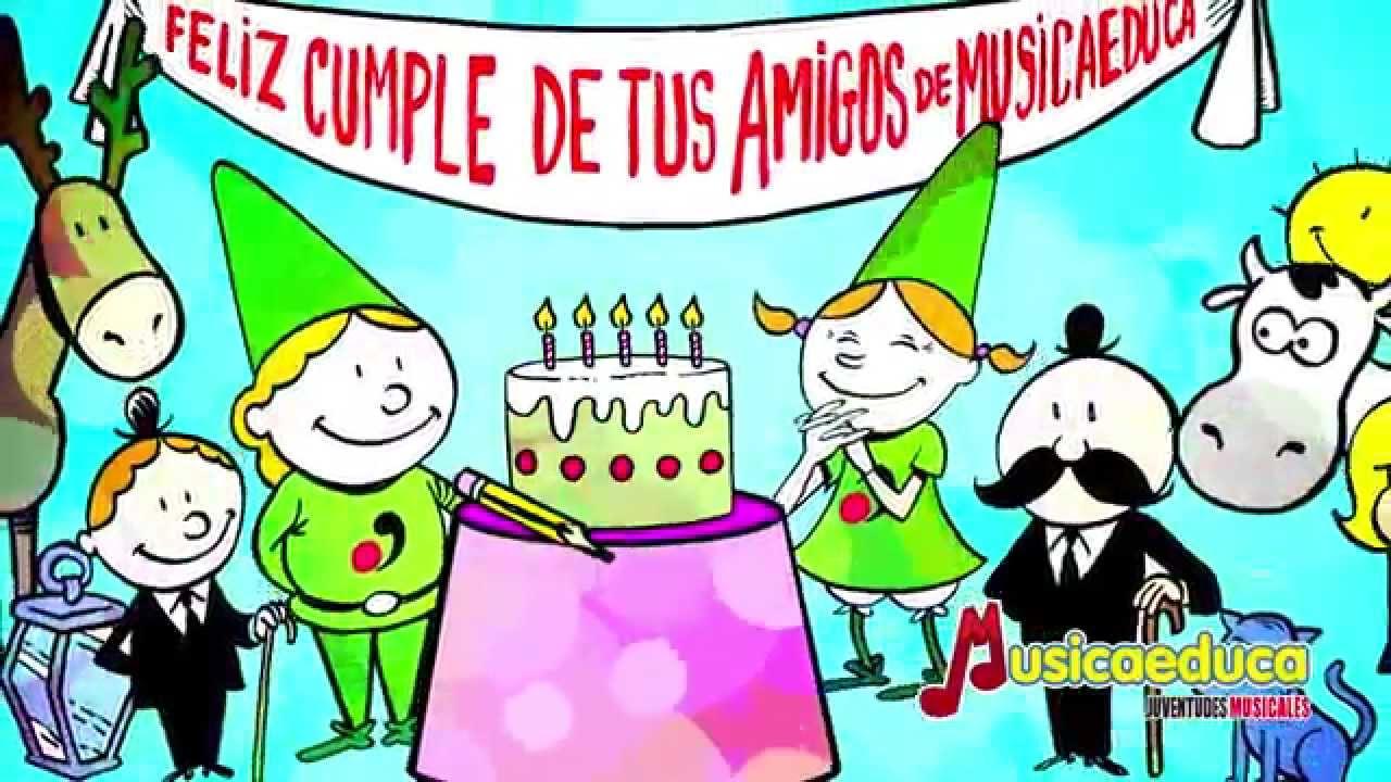 Feliz cumpleaños con Musizón y Valentina