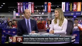 Paul Finebaum talks Jimbo Fisher leaving