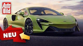 [AUTO BILD] McLaren Artura (2021) | Neuer Plug-in-Supersportler | Sitzprobe mit Thomas Geiger