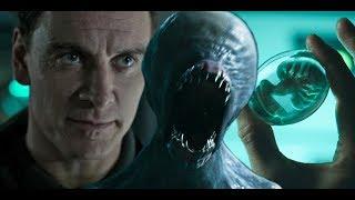 【馆长】黑暗血腥恐怖集一身的科幻佳作 几分钟看完科幻电影《异形·圣约》Alien Covenant