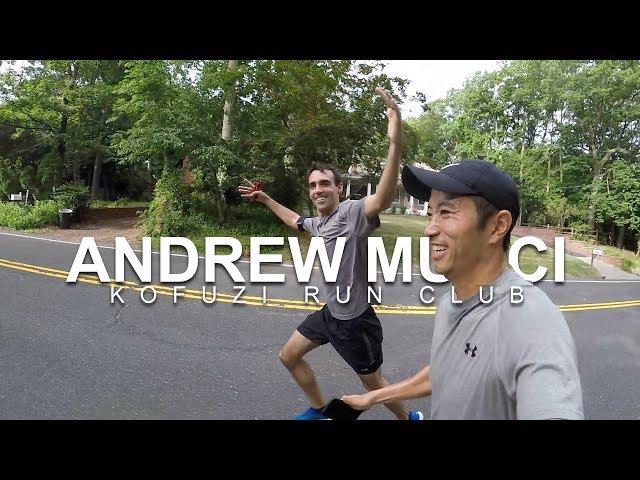 Kofuzi Run Club Andrew Mucci