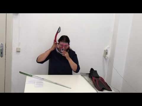 """►  Test-Video des Schnorchelsets """"Mermaid"""" von #DoYourSwimming auf Deutsch ☑"""