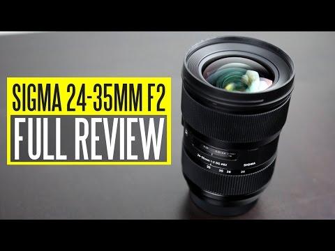 Sigma 24-35mm f/2 DG HSM Art Lens Review – World's Fastest Full Frame Zoom Lens