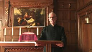 Video meditation by Msgr. Frederick Dolan, Vicar of Opus Dei in Canada