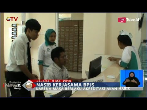 Akreditasi 557 Rumah Sakit Habis, BPJS Kesehatan Putus Kerja Sama - BIS 03/05