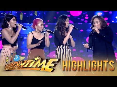 Ella Mae Saison sings her timeless hits with the TNT divas | It's Showtime