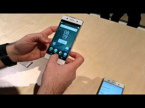 Sony xperia XA | MWC 2016