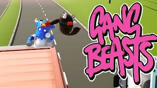 GANG BEASTS - DRAW. DRAW. DRAW!!!! [Melee] - Xbox One Gameplay, Walkthrough