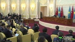 Президент Турции Эрдоган: Назарбаев - аксакал тюркского мира
