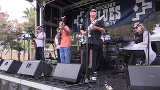 "Cold Shott and the Hurricane Horns ""Dr Feelgood"" Live at the Phoenix Blues Blast"