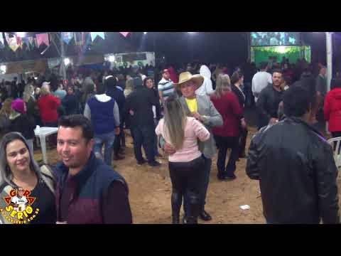 Prefeito Ayres Scorsatto dançando Vanerão na Festa Junina 2018 de Juquitiba