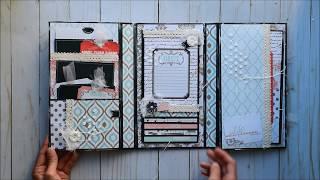 Mini Trifold Folio | Teresa Collins - Save the Date