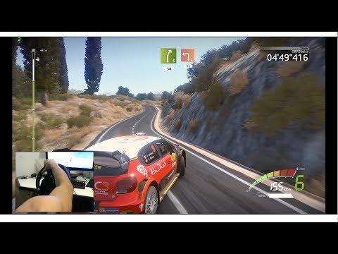 WRC 7 - Spain - La Figuera - Gameplay