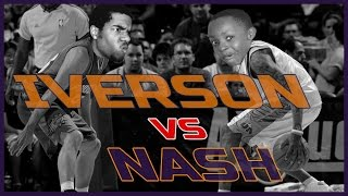 WHO'S BETTER? IVERSON OR NASH!? - NBA 2K16 Head to Head Blacktop Gameplay Game 5