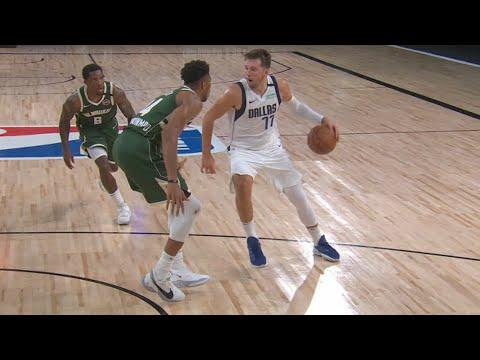 Luka Doncic Trip Dub vs Bucks! Porzingis 1 Hand Lob! 2020 NBA Restart