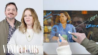 Melissa McCarthy and Ben Falcone Break Down a Scene from Life of the Party | Vanity Fair - Video Youtube