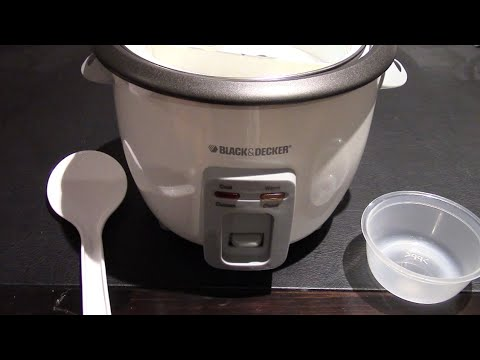 Unboxing the Black & Decker 6 Cup Rice Cooker and Steamer