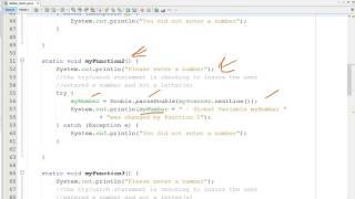 Java - Global Variables