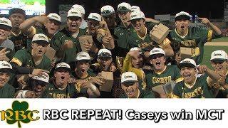 Red Bank Catholic 5 Saint Rose 1 | MCT Finals | Caseys Repeat | Blaise Panzini MVP