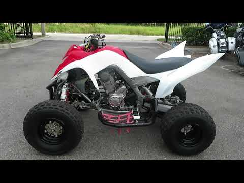 2011 Yamaha Raptor 700R in Sanford, Florida - Video 1
