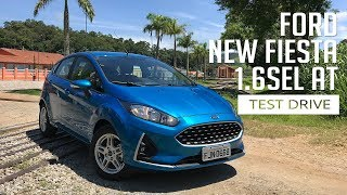 Ford New Fiesta 1.6 SEL AT - Test Drive