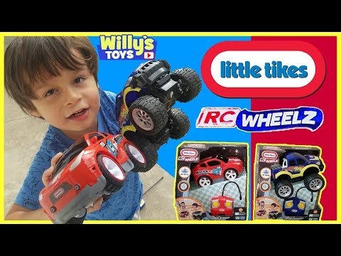 Little Tikes RC WHEELZ First Racers Remote Control Car and 4×4 Truck TOY REVIEW – Willy's Toys