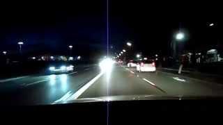 preview picture of video 'Impressionen einer Nachtfahrt'