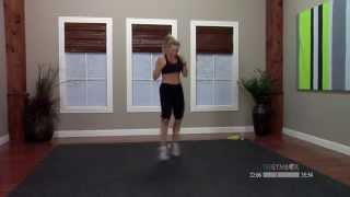 Kickbox workout with music with Kaycee - 60 minutes by thegymbox
